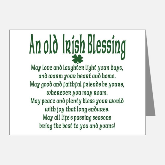 old_irish_blessing_note_cards_pk_of_20