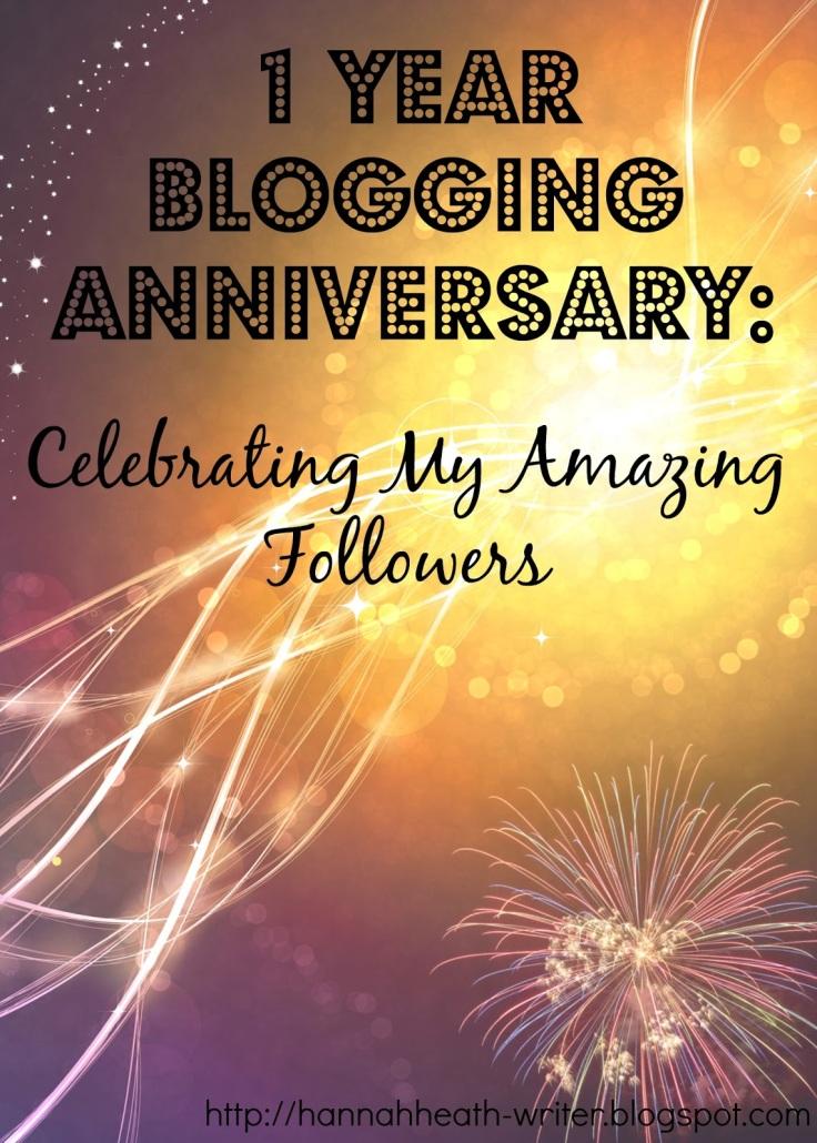 1 Year Blogging Anniversary Celebrating My Amazing Followers